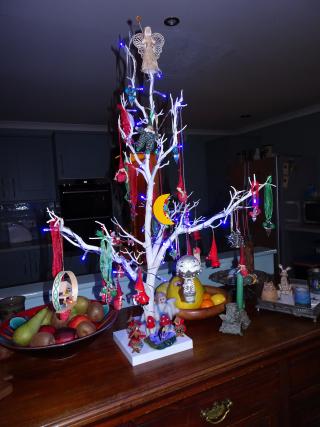 Kitchen little tree